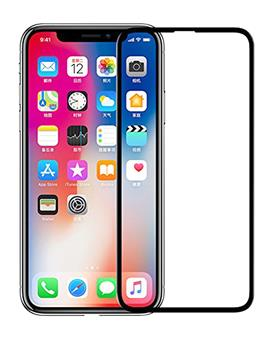 Tempered Glass for Apple iPhone X / XS with 5D Tempered Glass 9H Quality