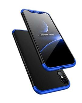 Case For Apple iPhone XR Ultra-thin 3-In-1 Slim Fit Complete 3D 360 Degree Protection Hybrid Hard Bumper Back Case Cover For Apple iPhone XR -Blue