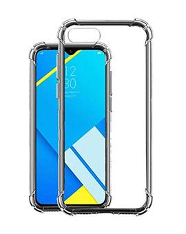Back Cover Case for RealMe C2 Soft Silicone TPU Flexible Back Cover for RealMe C2 (Transparent)