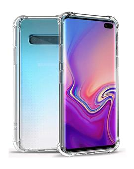 Case for Samsung Galaxy S10 Soft Silicon Transparent Bumper Corner TPU Case Cover for Samsung Galaxy S10