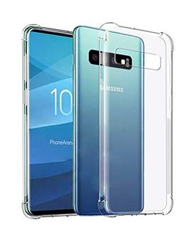 Case for Samsung Galaxy S10 Plus Soft Silicon Transparent Bumper Corner TPU Case Cover for Samsung Galaxy S10 Plus / Galaxy S10+