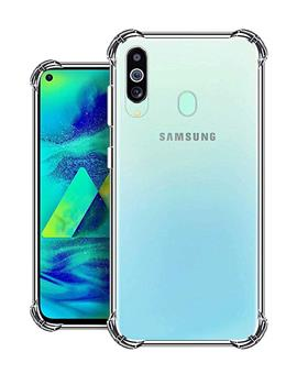 RRTBZ Back Cover Case for Samsung Galaxy M40 Soft Silicone TPU Flexible Back Cover for Samsung Galaxy M40 (Transparent)
