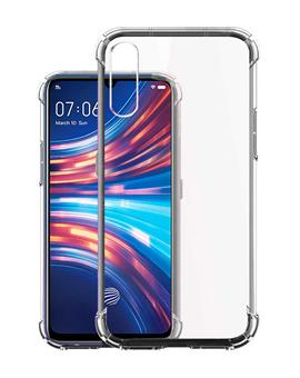 Case for Vivo S1 Soft Silicon Transparent Bumper Corner TPU Case Cover for Vivo S1