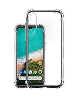 Mi A3 Cover RRTBZ Transparent Soft Silicone TPU Flexible Back Cover for Xiaomi Mi A3