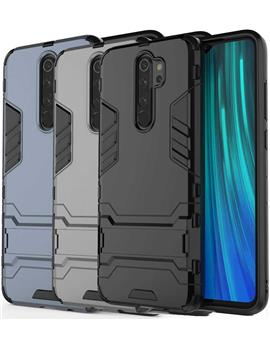 Cover for Redmi Note 8 Pro Heavy Duty Shockproof Dual Protection Layer Kickstand Back Cover Case for Xiaomi Redmi Note 8 Pro