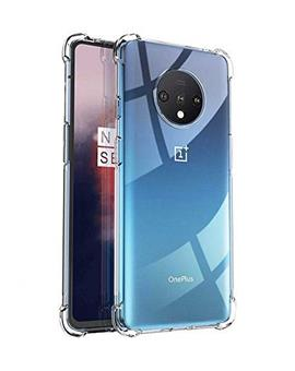 Transparent Bumper Corner TPU Case Cover for OnePlus 7T / 1+7T