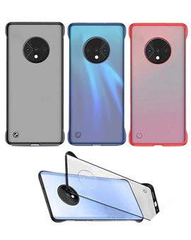 Frameless Ultra Thin Bumper Transparent Case Cover for OnePlus 7T / 1+7T