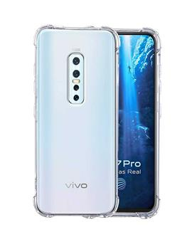 Case for Vivo V17 Pro Transparent Soft Silicone TPU Flexible Back Cover for Vivo V17 Pro