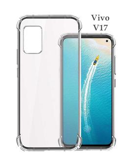 Cases for Vivo V17 Transparent Soft Silicone TPU Flexible Back Cover for Vivo V17