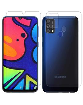 Front and Back Fiber Impossible Screen Guard For Samsung Galaxy F41 / M31 / M21