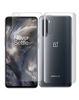 Front and Back Fiber Impossible Screen Guard For Oneplus Nord