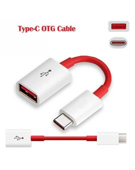 Type-C OTG Cable Suitable for Oneplus 3/Oneplus 3T/Oneplus 5/1+ 5T/1+6/1+ 6T/Oneplus 7/1+7 Pro/ Oneplus 8/8T