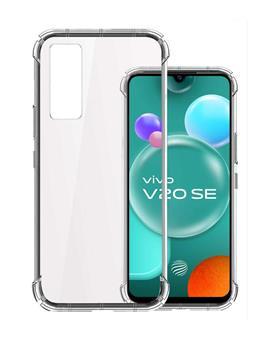 Transparent Soft TPU Back Cover for Vivo V20 SE / Vivo Y70