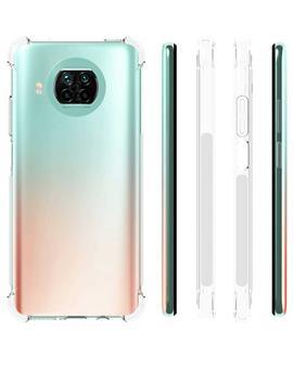 Transparent Soft TPU Back Cover for Xiaomi Mi 10i 5G
