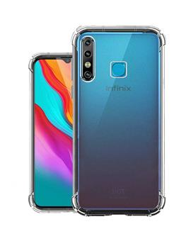 Transparent Soft TPU Back Cover for Infinix Hot 8