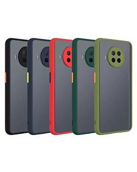 RRTBZ Case for Xiaomi Mi 10i Smoke Translucent Rubberized Camera Protection  Back Case Cover for Xiaomi Mi 10i 5G