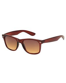 TBZ Brown Wayfarer Non Metal Sunglasses