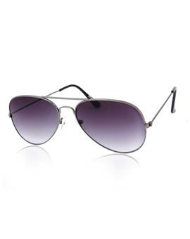 TBZ Purple Gradient Aviator Sunglasses
