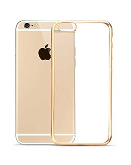 TBZ Ultra Slim Luxury Electroplating Soft Clear Transparent Back Cover for Apple iPhone 5 / iPhone 5S
