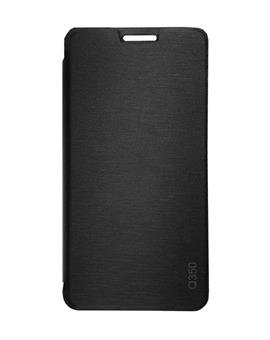 TBZ Flip Cover Case for Micromax Canvas Spark 2 Plus Q350 -Black