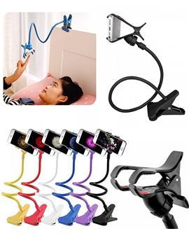 Portable Foldable Flexible Mobile Holder Lazy Stand For Apple / Samsung / HTC / Sony and All Other Phones