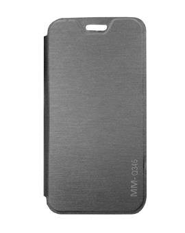 TBZ Flip Cover Case for Micromax Bolt Q346 -Black