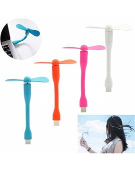 Silicone Portable & Flexible USB Fan