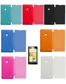 TBZ Flip Cover Case for Nokia Lumia 520/525