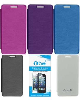 TBZ Flip Cover Case for Micromax Canvas 4 Plus A315