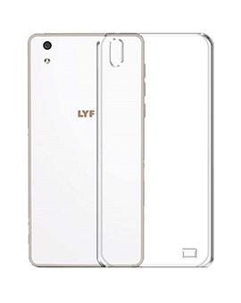 TBZ Transparent Soft TPU Back Case Cover for Lyf Water 5