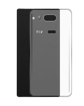 TBZ Transparent Soft TPU Back Case Cover for Lyf Wind 4