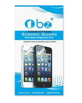 TBZ Tempered Screen Guard for Lava Iris X5 4G