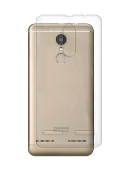 TBZ Transparent Silicon Soft TPU Slim Back Case Cover for Lenovo K6 Power
