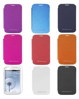 TBZ Premium Flip Book Cover Case for Samsung Galaxy Grand Neo Gt i9060