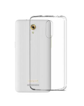 TBZ Transparent Silicon Soft TPU Slim Back Case Cover for Coolpad Mega 3