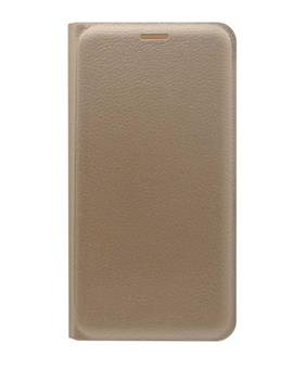 TBZ PU Leather Flip Cover Case for Lenovo Phab2 -Golden