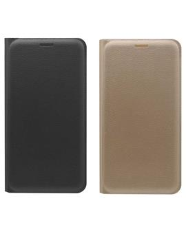 TBZ PU Leather Flip Cover Case for Motorola Moto M
