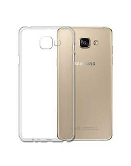 TBZ Transparent Silicon Soft TPU Slim Back Case Cover for Samsung Galaxy J7 Prime