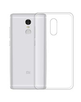 TBZ Transparent Silicon Soft TPU Slim Back Case Cover for Xiaomi Redmi Note 4