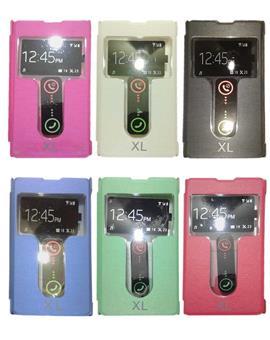 TBZ Premium Quality Caller ID S View Flip Cover Case For Nokia XL
